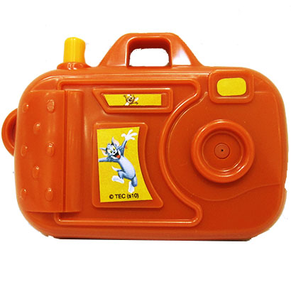 CAMERA LANCA AGUA TOM E JERRY 11CM