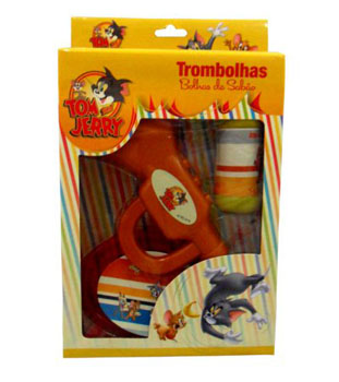 KIT TROMBOLHAS DE SABAO TOM E JERRY 6678