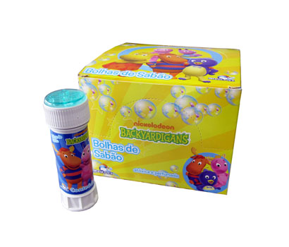 BOLHA DE SABAO BACKYARDIGANS COM JOGO 60ML 0,38ØX114MM