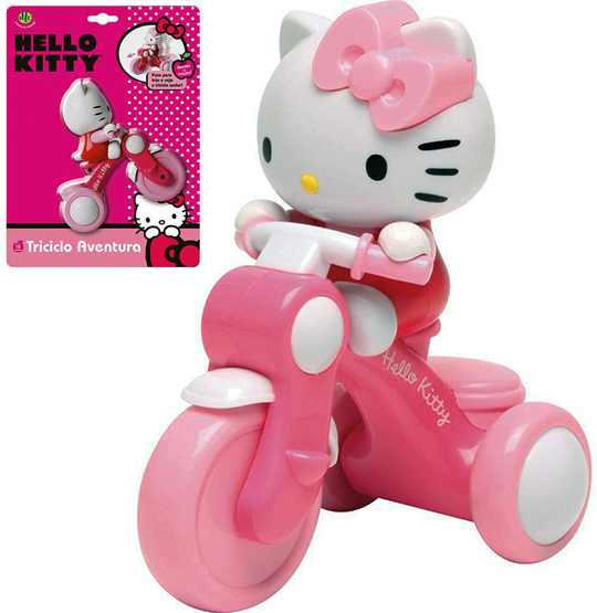 TRICICLO AVENTURA HELLO KITTY