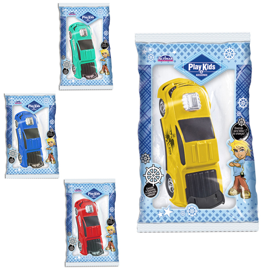 CARRO PICK-UP POWER COLORS NA SOLAPA PLAY KIDS