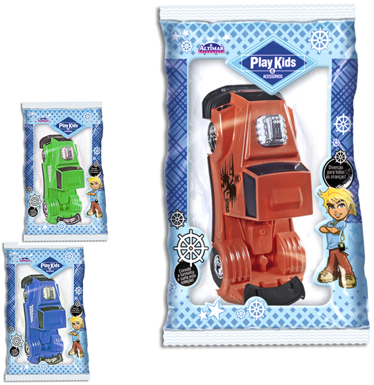 CAMINHAO TRUCK POWER COLORS NA SOLAPA PLAY KIDS