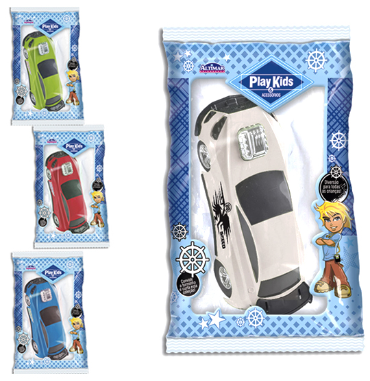 CARRO NITRO POWER COLORS NA SOLAPA PLAY KIDS