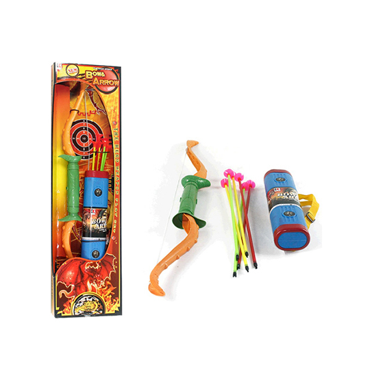 ARCO E FLECHA COM SUPORTE + ALCA REGULAVEL BOW AND ARROW WELLKIDS
