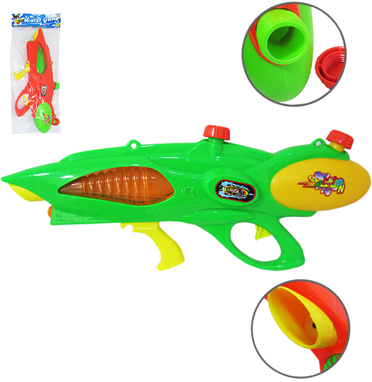PISTOLA LANCA AGUA WATER GUN ACTION COLORS 58X23CM NA SOLAPA