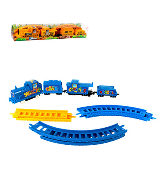 TREM / FERRORAMA SUPER TRAIN SET/SPEED KING COLORS COM ACESSORIOS A PILHA