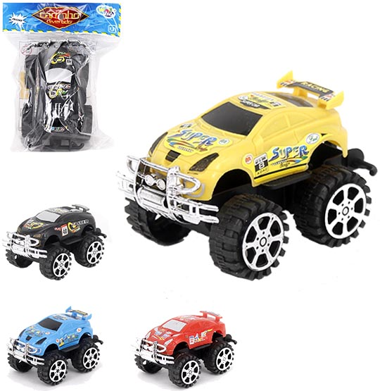 CARRO A FRICCAO RALLY MINI DIVERTIDO COLORS NA SOLAPA WELLKIDS