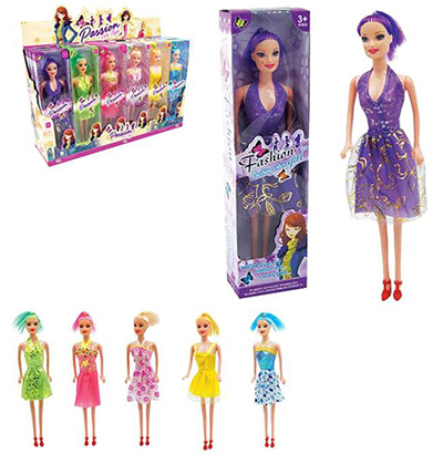 BONECA PASSION CUTE STYLE SORTIDAS NA CAIXA WELLKIDS