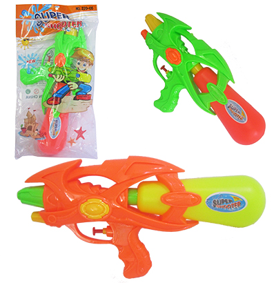 PISTOLA LANCA AGUA SUPER SHOOTER COLORS 32X16X7CM