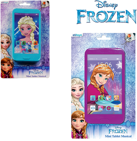 MINI TABLET MUSICAL FROZEN