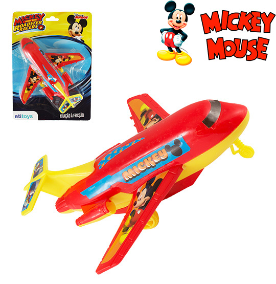 AVIAO A FRICCAO NA CARTELA MICKEY