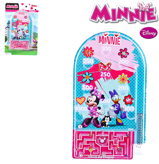 PINBALL 16X9,5CM MINNIE NA CARTELA