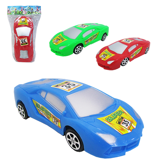 CARRO A FRICCAO ESPORTIVO SUPER POWERED SPEEDY COLORS NA SOLAPA