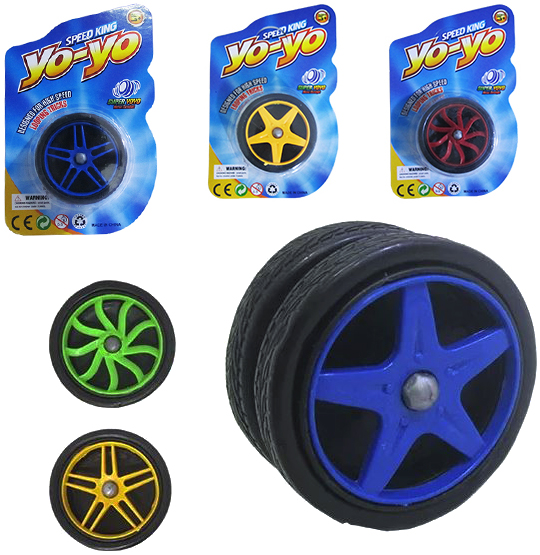 IOIO (YOYO) MODELO RODA COLORS SPEED KING NA CARTELA