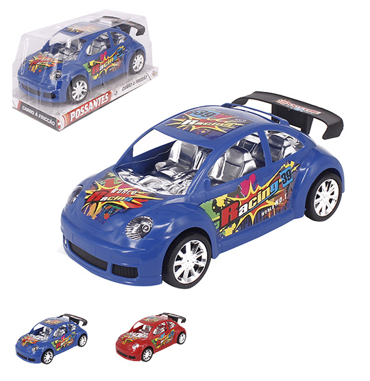 CARRO A FRICCAO WORLD RACING POSSANTES COLORS WELLKIDS
