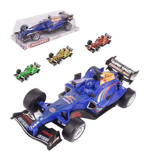 CARRO F1 A FRICCAO SUPER SPEED POWER POSSANTES WELLKIDS