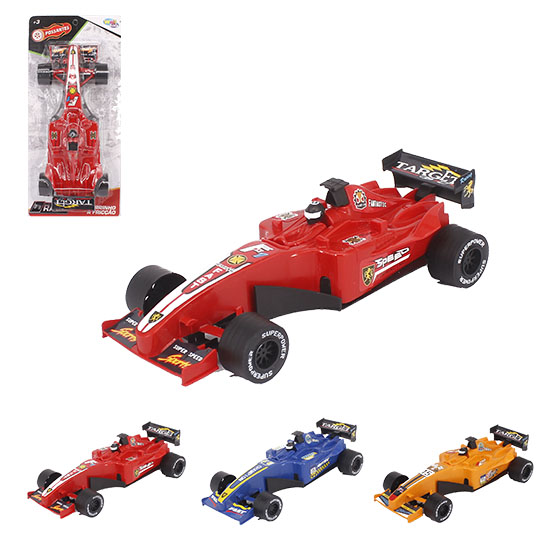 CARRO F1 A FRICCAO SPEED TARGET POSSANTES COLORS WELLKIDS