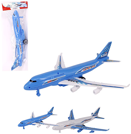AVIAO A FRICCAO SUPER SPEED AIR CRAFT NA SOLAPA WELLKIDS