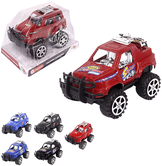 CARRO PICK-UP A FRICCAO HIGH SPEED RALLY COLORS POSSANTES WELLKIDS