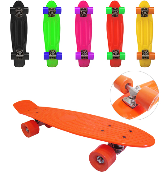 SKATE CRUISER 55X14CM COLORS