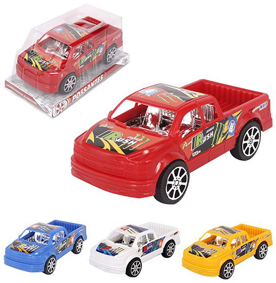 CARRO PICK-UP A FRICCAO SPEEDY RUSH COLORS WELLKIDS