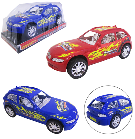 CARRO A FRICCAO RACING SUPER POWER COLORS 22,5CM