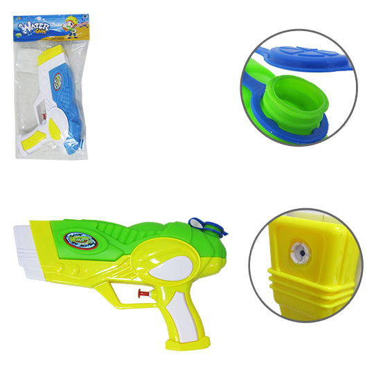 PISTOLA LANCA AGUA ESPACIAL WATER GUN POWERFULL COLORS 25X15CM NA SOLAPA