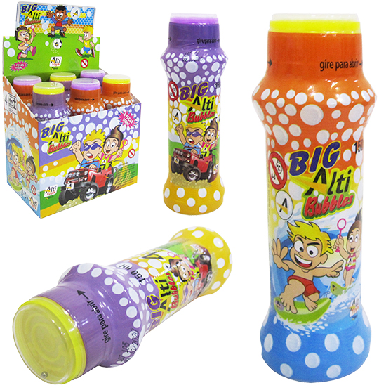 BOLHA DE SABAO BIG ALT BUBBLES COM JOGO 150ML 150X0,48MM DE Ø