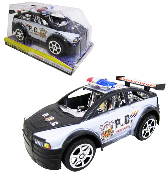 CARRO A FRICCAO POLICIA P.C RIGHT SPEEDWAY