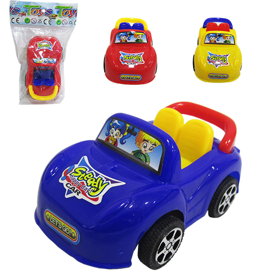 CARRO A FRICCAO PULL BACK HAPPY DAY CAR COLORS NA SOLAPA