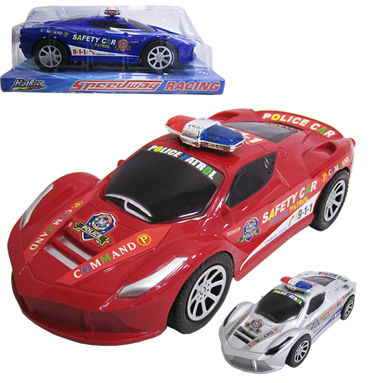 CARRO A FRICCAO POLICIA SPEEDWAY RACING COLORS