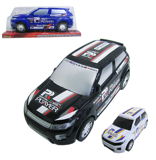 CARRO SUV A FRICCAO PLAYER ROAR KINGS WIND COLORS