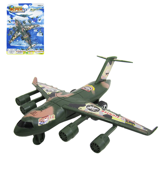 AVIAO MILITAR A FRICCAO AIRPLANE SUPER FLY FIGHTER NA CARTELA