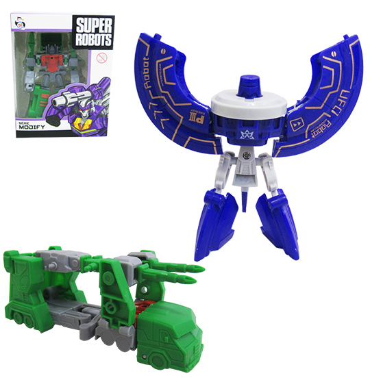 ROBO TRANSFORME SUPER ROBOTS SERIE MODIFY SORTIDOS COLORS NA CAIXA