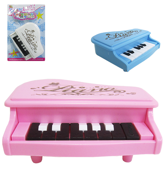 TECLADO / PIANO MUSICAL INFANTIL A PILHA COLORS