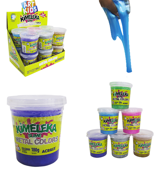 GELEINHA SLIME / KIMELEKA METAL COLORS 180G NO POTE