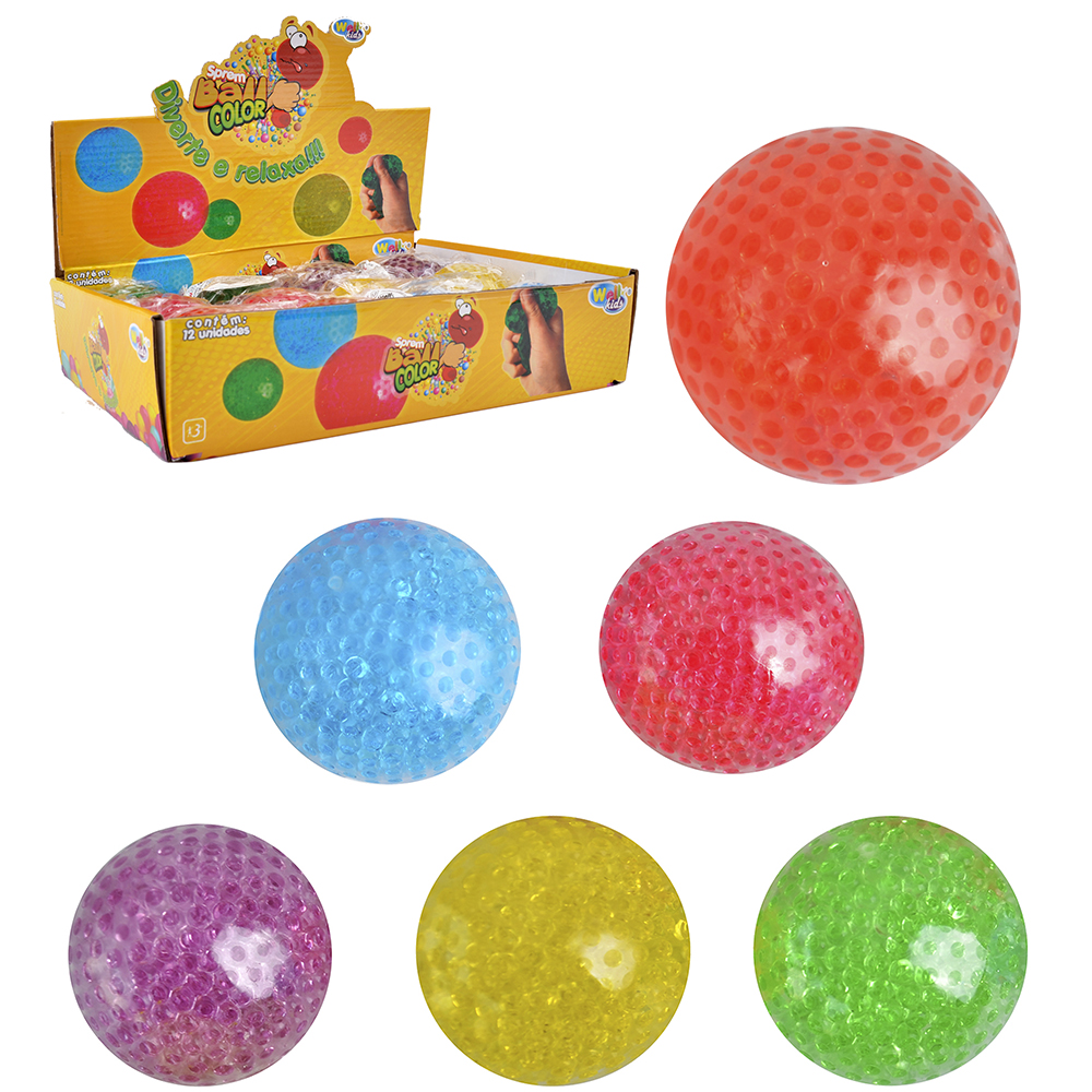 BOLA SPREM BALL COLORS 6CM DE Ø WELLKIDS
