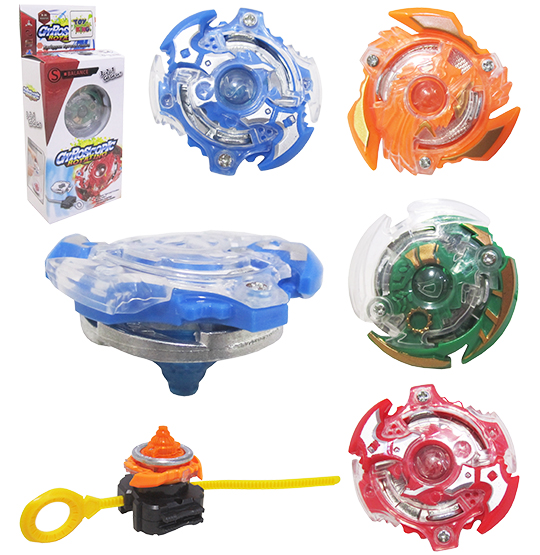 PIAO / BLADE COM LANCADOR GYROSCOPIC ROTATING COLORS NA CAIXA