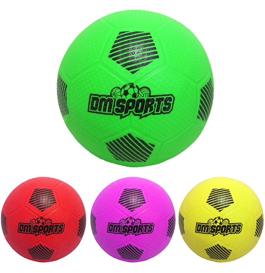 BOLA DE FUTEBOL DM SPORTS COLORS 22CM DE Ø 200G