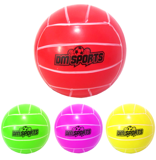 BOLA DE VOLEI DM SPORTS COLORS 20CM DE Ø 200G