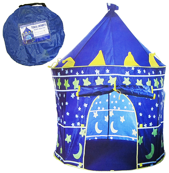 BARRACA / TENDA DOBRAVEL CASTELO DO PRINCIPE 135X105CM NA BOLSA