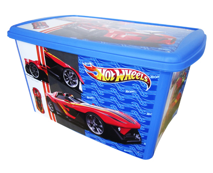 CAIXA HOT WHEELS 46L 572X384X303MM