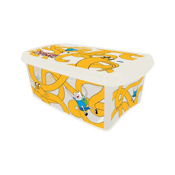 CAIXA THE ADVENTURE TIME 4,2L 293X181X118MM