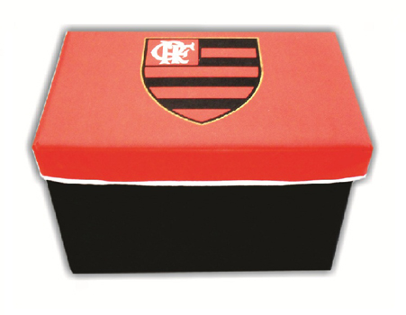 MINI PUFF MULTIFUNCIONAL FLAMENGO 30,5X47,5X32CM