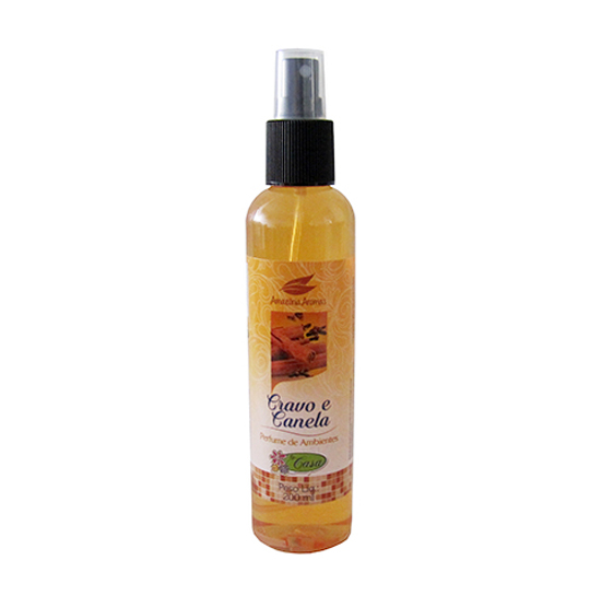 PERFUME PARA AMBIENTES CRAVO E CANELA SPRAY 200ML