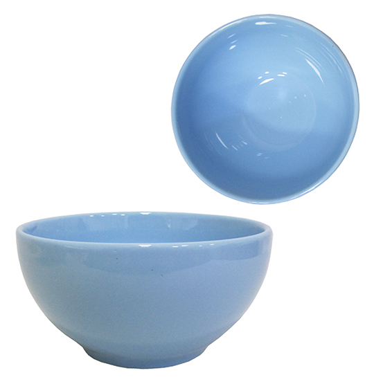 TIGELA / CUMBUCA DE PORCELANA BOWL AZUL 500ML