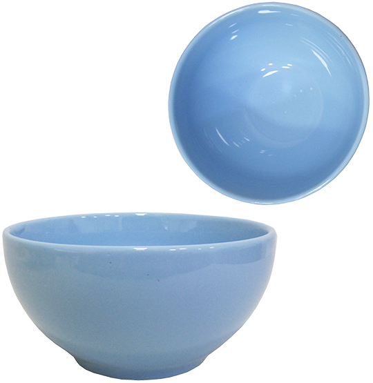 TIGELA / CUMBUCA DE PORCELANA BOWL AZUL 800ML