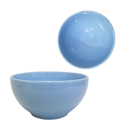 TIGELA / CUMBUCA DE PORCELANA BOWL AZUL 300ML