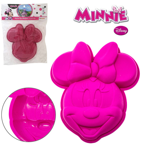 FORMA DE SILICONE MULTIUSO MINNIE 230ML 17X15,5CX3M