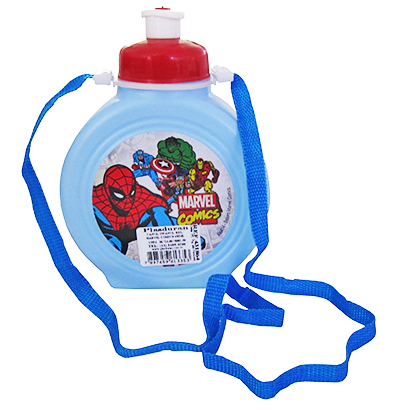 CANTIL INFANTIL REDONDO MARVEL COMICS 450ML